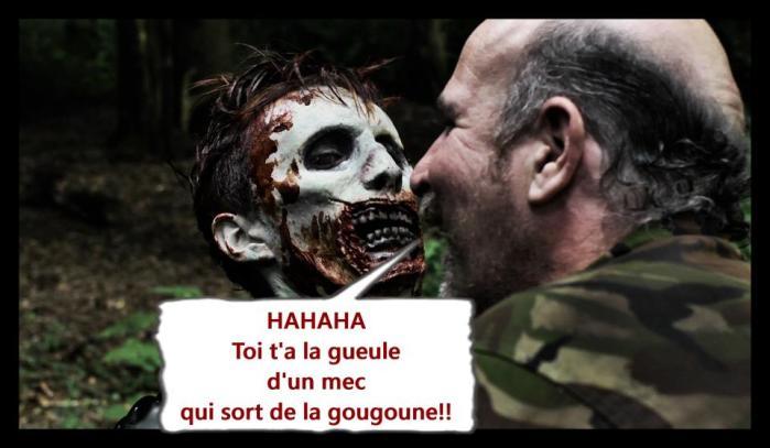 détournement humour zombie