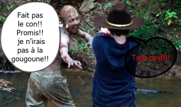walking dead détournement
