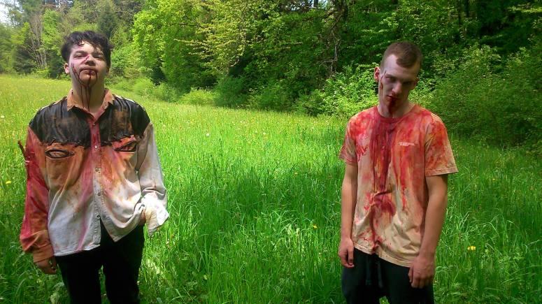 maquillage pour Zombies Interfectorem de chez Apozfx Créations